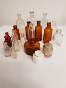 Antique Bottle Collection