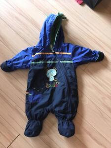 Suite d'hiver bébé 3 mois