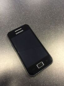 Samsung Galaxy Ace S5830i Factory Unlocked With Charger Earphones and 8GB Memory Card