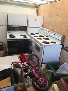 Fire Sale for Charity - Fridge or Stove 3 availble of Each