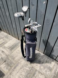 Full set of Golf Clubs and Golf Bag - Howson Tour Design