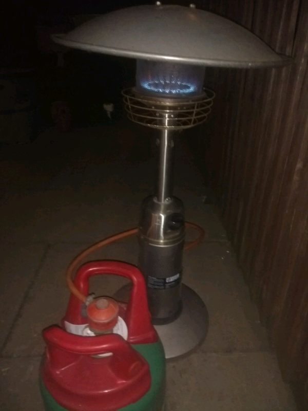 Small Table Top Patio Heater In Long Eaton Nottinghamshire