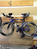 Great deal on this heavily upgraded Cervelo P2C
