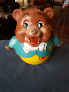 Vintage Fisher Price Chubby Cub pull toy