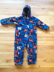 Columbia Snowtop II Bunting Fleece Snowsuit 18-24 mo.