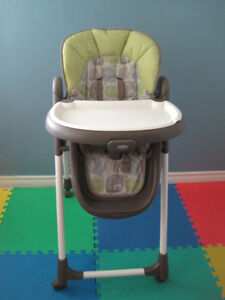 Fisher price high chair, adjustable