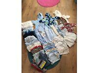 Newborn to 3 months boys bundle of clothes
