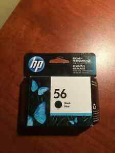 HP 56 BLACK INK CARTRIDGE West Island Greater Montréal image 1