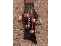 Dean Edge 4 string bass guitar