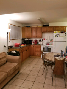 Two bedroom suite for rent for May 1st