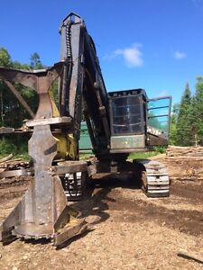 Feller Buncher for rent with operator