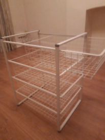 IKEA metal drawers