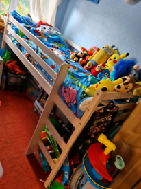 Boys cabin bed WITH Mattress