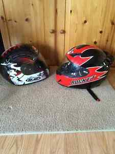 3 Helmets for sale. HJC and Joe Rocket