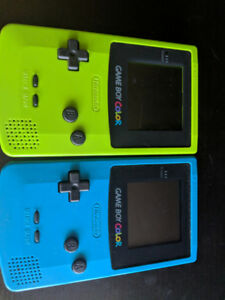 2 gameboy colors for trade for N64 games/ps4 games/pokemon cards