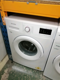 DAEWOO 7KG WASHING MACHINE WHITE WITH WARRANTY AT RECYK APPLIANCES