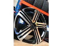 "18"" alloy wheels Alloys Rims Vw Volkswagen Seat skoda audi 112 fitment"