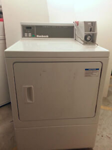 Coin-Operated Dryers (x3) & Washer (x1)