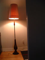 lampe sur pied vintage mid century