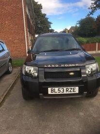 Land Rover Freelander 1 facelift 1.8 petrol 67000ml