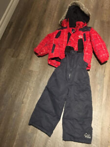 LIKE NEW! GUSTI BOYS SIZE 3 SNOW SUIT