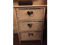 Chest of 2 drawers (bedside)