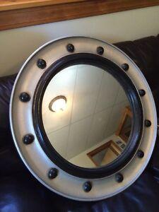 "32"" Port Hole Hanging Mirror"