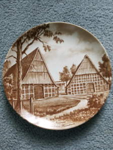 Kaiser porcelain collector plate  German