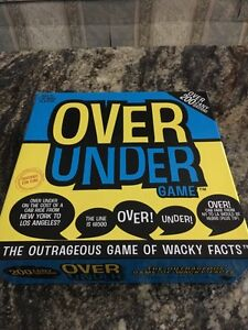 Over under board game. Never played London Ontario image 1