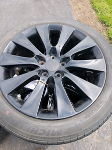 "18"" 5x114.3 Honda Accord rims"