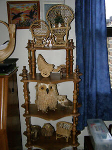 Wicker Ornaments (Owls & Bird are gone)