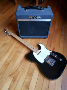 Fender Telecaster with Fender tube amp