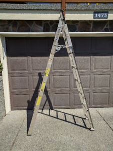 Werner Combo (Multi-Way) Ladder Grade 2 (8' by 13') - $90 OBO