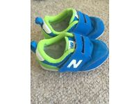 Boys New Balance trainers size 8