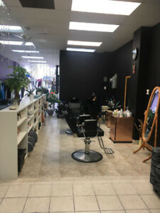 Chair and room for rent in the beauty salon on St.Clair Ave west