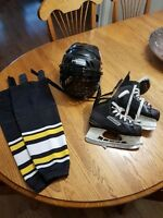 Hockey Skates, helmet and socks Moncton New Brunswick Preview