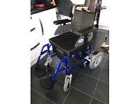 Energi Enigma power wheelchair. Metallic blue. Perfect condition.
