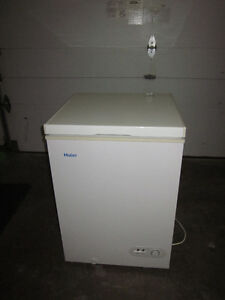 Small Haier household freezer 3.5 Cu. ft.