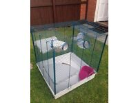 Rat cage large animal chinchilla