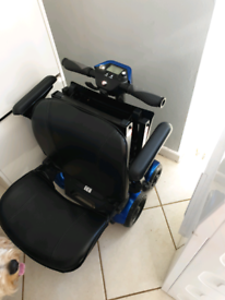 4 wheel folding mobility scooter