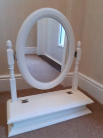Dressing Table Vanity Mirror with storage