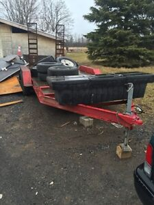 16ft float trailer
