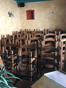 Restaurant furniture - Rustic country style