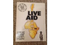 Live Aid 1985 - DVD Box Set. Bowie, Beach Boys, Queen, Dylan, The Who etc