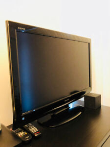 """32"""" Sharp Aquas TV - $100 OBO - Used - Perfect Cond. - Downtown"""