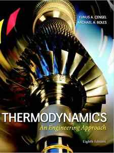 CH E 243 Textbook: Thermodynamics: An Engineering Approach