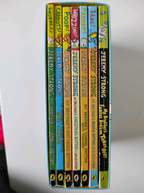 Jeremy strong Brother's famous Bottom book collection