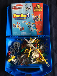 jeu/jouet de construction K'nex pour enfant 5 à 7 ans