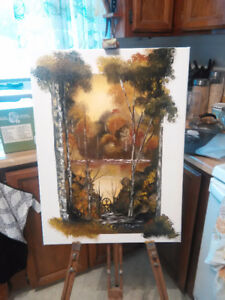 Fresh oil painting for sale
