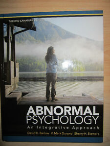 Abnormal psychology buy or sell books in ontario kijiji abnormal psychology an integrative approach like new fandeluxe Choice Image